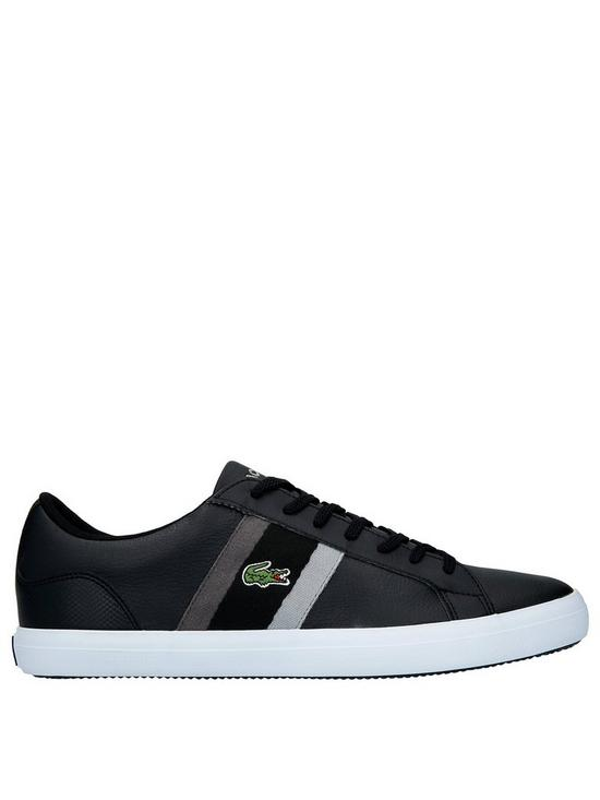 434be2c155533 Lacoste Lerond Trainers - Black