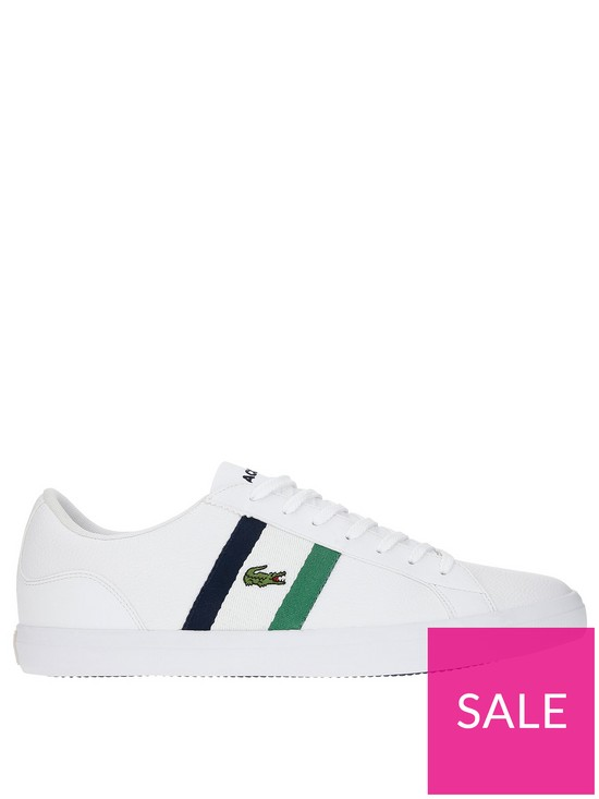 7c88cd0916 Lacoste Lerond Trainers – White | very.co.uk