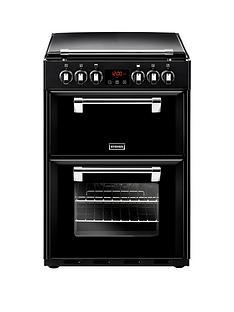 stoves-600e-60cm-richmond-electric-cooker-with-optional-connection-black