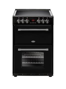 belling-60e-farmhouse-60cmnbspwide-electric-cookernbspwith-optional-connection-black