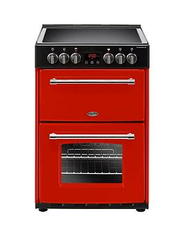 Belling 60E Farmhouse 60Cm Wide Double Oven Electric Cooker - Cooker Only