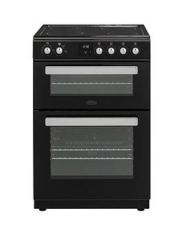 belling-fse608dpc-60cmnbspwide-electric-cookernbspwith-optional-connection-black