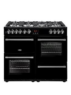 belling-100df-farmhouse-100cm-dual-fuel-range-cooker-with-optional-connection--nbspblack