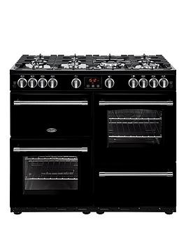 Belling 100G Farmhouse 100Cm Gas Range Cooker - Rangecooker With Connection