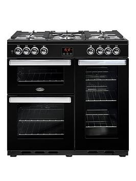 Belling 90Dft Cookcentre 90Cm Dual Fuel Range Cooker - Rangecooker Only Best Price, Cheapest Prices