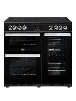 Belling 90E Cookcentre 90Cm Electric Range Cooker - Rangecooker Only Best Price, Cheapest Prices