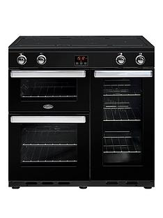belling-90ei-belling-cookcentre-90cm-electric-range-cooker-with-optional-connection-black