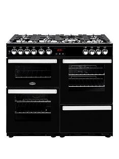 belling-100dft-cookcentre-100cm-dual-fuel-range-cooker-with-optional-connection-black