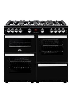 belling-100g-cookcentre-100cm-gas-range-cookernbspwith-optional-connection-black