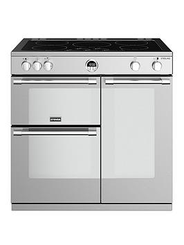 stoves-sterling-s900ei-90cm-wide-electric-range-cooker-with-optional-connection-stainless-steel