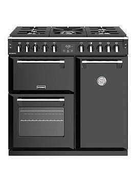 stoves-richmond-s900df-90cm-wide-dual-fuel-range-cooker-with-optional-connection-black