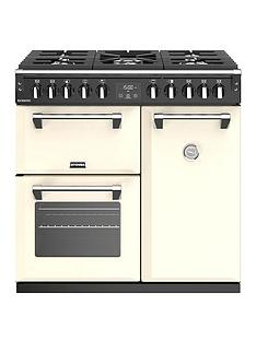 stoves-richmond-s900df-90cm-wide-dual-fuel-range-cooker-with-optional-connection-cream