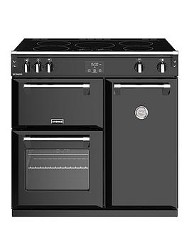 stoves-richmond-s900ei-90cm-wide-electric-range-cooker-with-optional-connection-black