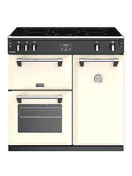 stoves-richmond-s900ei-90cm-wide-electric-range-cooker-with-optional-connection-cream