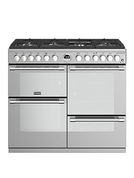 stoves-sterling-s1000df-100cm-wide-dual-fuel-range-cooker-with-optional-connection-stainless-steel