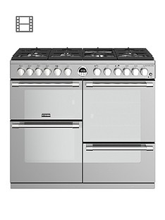 stoves-sterling-s1000df-dual-fuel-100cm-range-cooker-stainless-steel