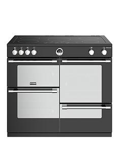 stoves-sterling-s1000ei-electric-100cm-wide-range-cooker-black-with-optional-connection