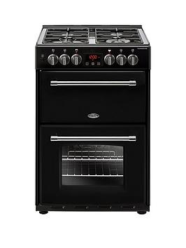 Belling 60Df Farmhouse 60Cm Wide Dual Fuel Cooker - Cooker Only