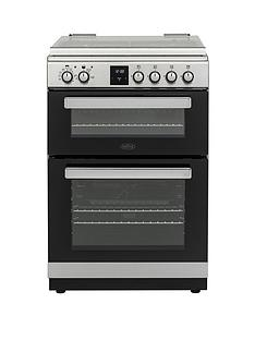belling-fsdf608dc-60cmnbspwide-dual-fuel-cooker-with-optional-connection-stainless-steel