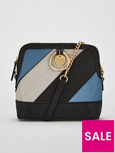 v-by-very-mixed-panel-cross-body-bag-blue