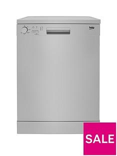 beko-dfn05310s-13-place-freestanding-fullsize-dishwasher-silver
