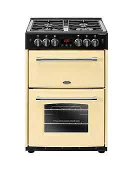 Belling 60G Farmhouse 60Cm Wide Gas Cooker - Cooker With Connection