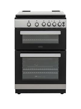 belling-fsg608dc-60cmnbspwide-double-oven-gas-cooker-with-optional-connection-silver