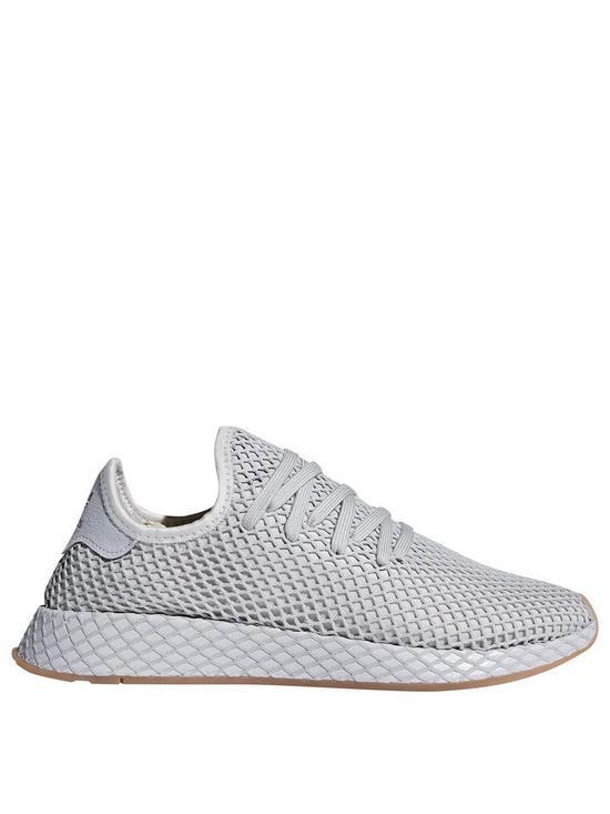 18859964b adidas Originals Deerupt Runner Trainer - Grey