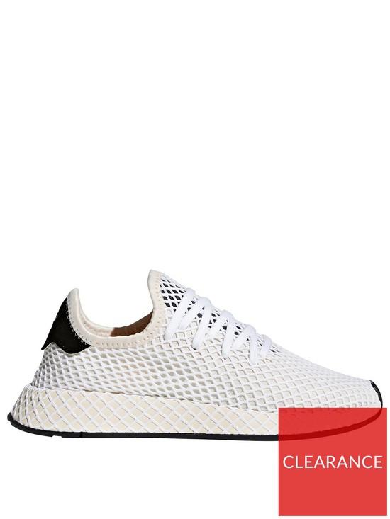 de1d6cf3579 adidas Originals Deerupt Runner Trainer - White