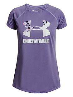 under-armour-girls-big-logo-tee