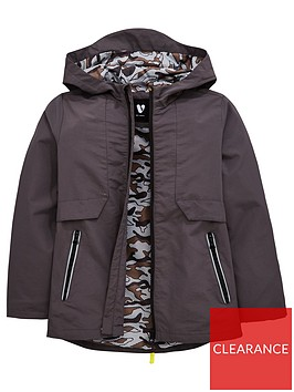 v-by-very-boys-hooded-camo-lined-tech-anorak-charcoal