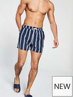 v-by-very-navy-stripe-swimshorts
