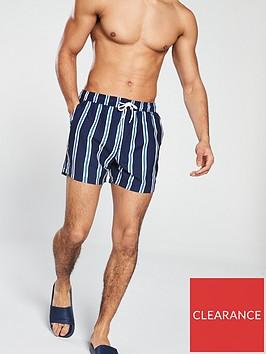 v-by-very-navy-stripe-swimshorts