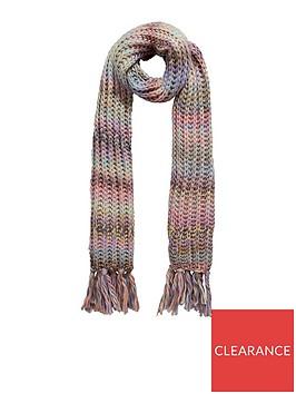 warehouse-chunky-yarn-scarf-multi