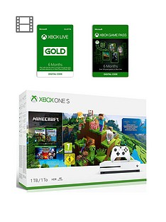 xbox-one-s-xbox-one-s-minecraft-bundle-1tb-6-months-games-pass-and-xbox-live-gold-membership-6-months