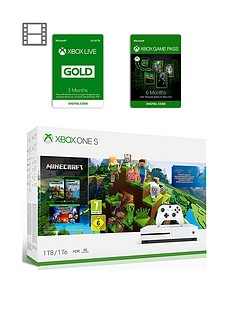 xbox-one-s-xbox-one-s-minecraft-bundle-1tb-6-months-games-pass-and-xbox-live-gold-membership-3-months