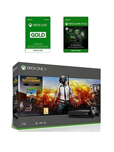 xbox-one-x-xbox-one-x-playerunknowns-battlegrounds-bundle-6-months-games-pass-and-xbox-live-gold-membership-3-months