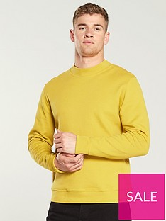 selected-homme-piquenbsplightweight-jumper-yellow