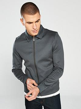 selected-homme-marc-sweat-jacket-grey