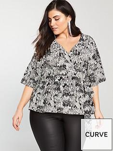 v-by-very-curve-snake-printed-wrap-blouse-print