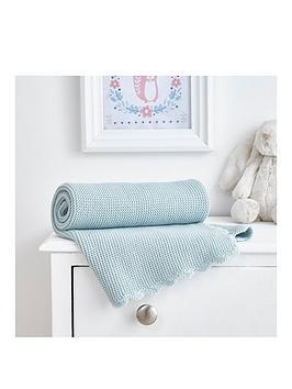 silentnight-crochet-edge-knitted-blanket