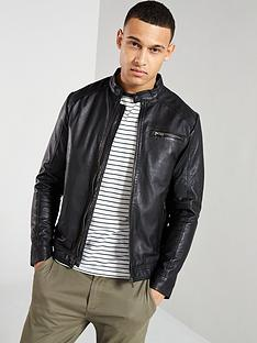 selected-homme-lambnbspleather-jacket-black