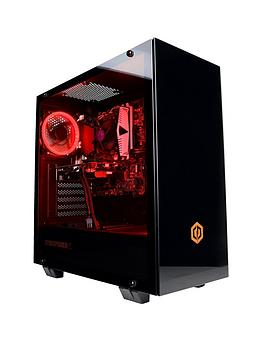 Cyberpower Paragon Vega 1050 Amd Ryzen 3, Geforce Gtx 1050 Ti Graphics, 8Gb Ram, 1Tb Hdd Gaming Pc  - Desktop With Monitor