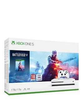 xbox-one-s-1tb-and-battlefield-v-with-optional-wireless-controller-andor-12-months-live