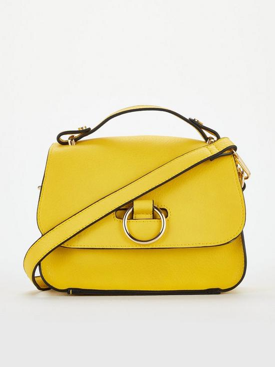 Pluck Mini Cross Body Bag – Yellow