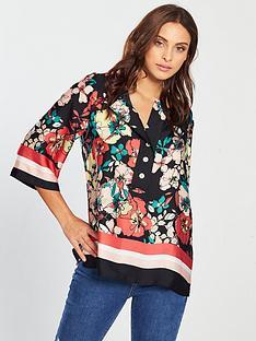 v-by-very-border-print-tunic