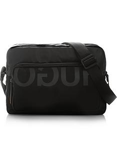 hugo-tech-nylon-messenger-bag-black