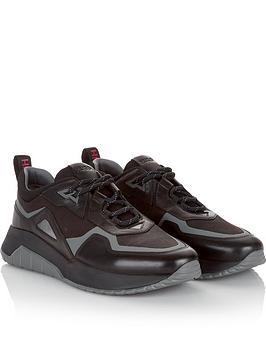 hugo-mens-atom-mixed-materials-runner-trainers-black