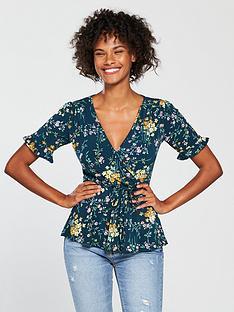 oasis-madeline-floral-wrap-top