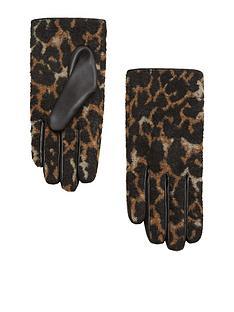 mango-leopard-gloves